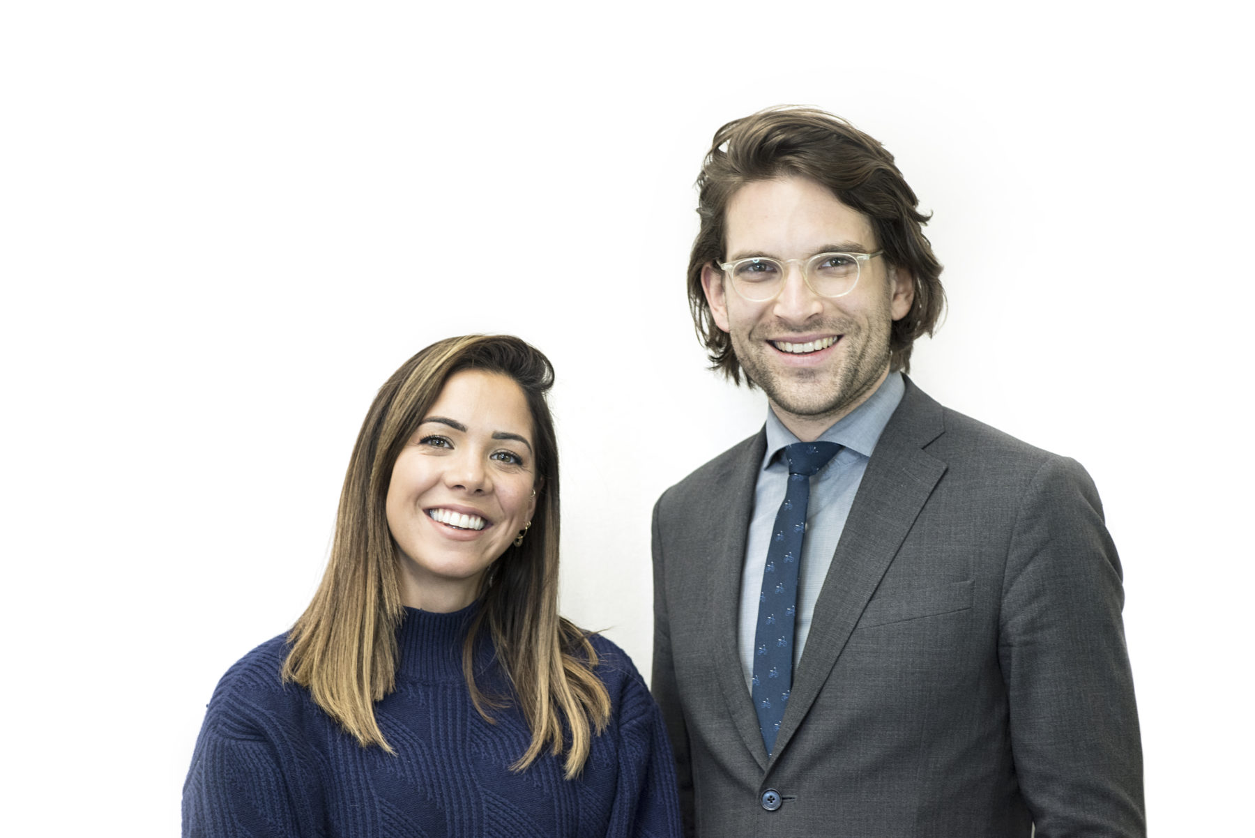 Podcast hosts Dr. Hazel Wallace and Dr. Sandro Demaio