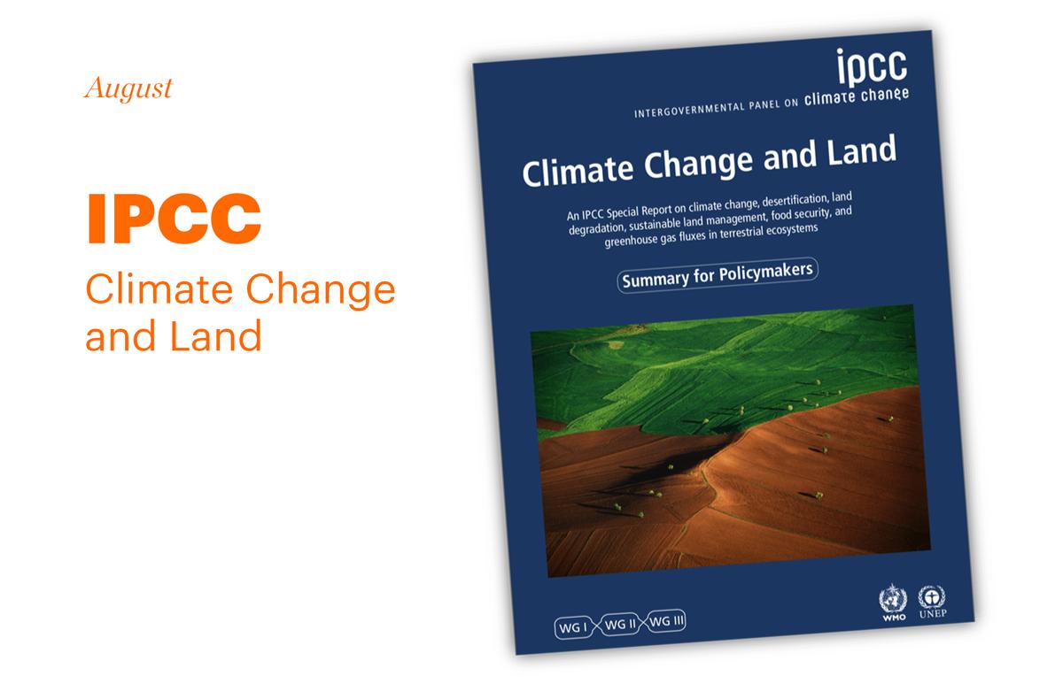 Report cover IPCC
