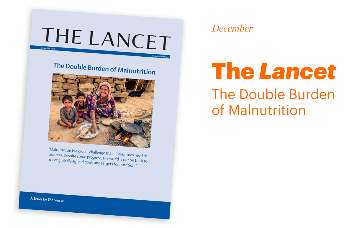 Report cover Lancet Malnutrition